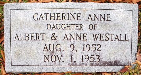WESTALL, CATHERINE ANNE - Claiborne County, Louisiana | CATHERINE ANNE WESTALL - Louisiana Gravestone Photos