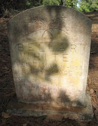 WHITE, BELLAR - Claiborne County, Louisiana | BELLAR WHITE - Louisiana Gravestone Photos