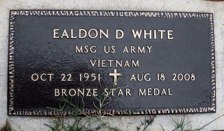 WHITE, EALDON D  (VETERAN VIET) - Claiborne County, Louisiana | EALDON D  (VETERAN VIET) WHITE - Louisiana Gravestone Photos
