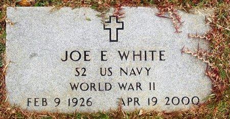 WHITE, JOE E  (VETERAN WWII) - Claiborne County, Louisiana | JOE E  (VETERAN WWII) WHITE - Louisiana Gravestone Photos