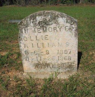 WILLIAMS, OLLIE - Claiborne County, Louisiana   OLLIE WILLIAMS - Louisiana Gravestone Photos