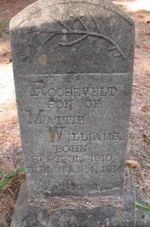WILLIAMS, ROOSEVELT - Claiborne County, Louisiana | ROOSEVELT WILLIAMS - Louisiana Gravestone Photos
