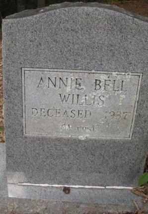 WILLIS, ANNIE BELL - Claiborne County, Louisiana | ANNIE BELL WILLIS - Louisiana Gravestone Photos