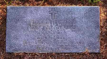 WILLIS, LESTER E (VETERAN WWII) - Claiborne County, Louisiana | LESTER E (VETERAN WWII) WILLIS - Louisiana Gravestone Photos