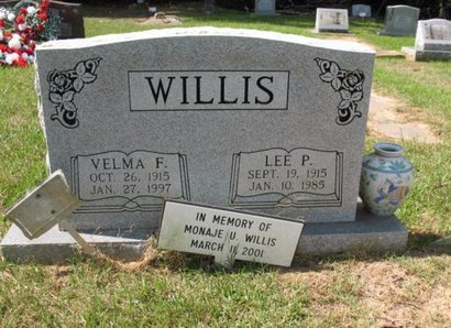 WILLIS, MONAJE U - Claiborne County, Louisiana | MONAJE U WILLIS - Louisiana Gravestone Photos