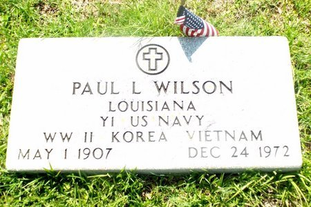WILSON, PAUL L (VETERAN 3 WARS) - Claiborne County, Louisiana | PAUL L (VETERAN 3 WARS) WILSON - Louisiana Gravestone Photos