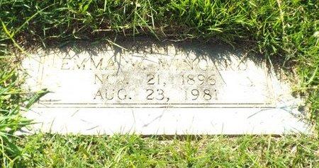 WINGARD, EMMA W - Claiborne County, Louisiana   EMMA W WINGARD - Louisiana Gravestone Photos