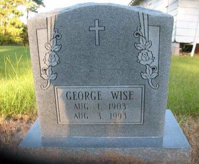 WISE, GEORGE - Claiborne County, Louisiana | GEORGE WISE - Louisiana Gravestone Photos