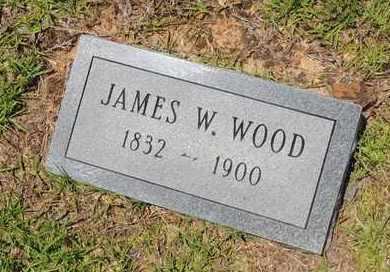WOOD, JAMES W - Claiborne County, Louisiana | JAMES W WOOD - Louisiana Gravestone Photos