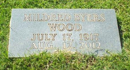 WOOD, MILDRED - Claiborne County, Louisiana | MILDRED WOOD - Louisiana Gravestone Photos