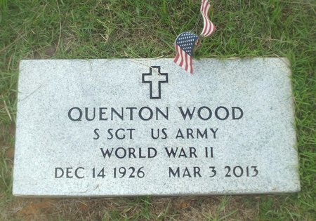WOOD, QUENTON (VETERAN WWII) - Claiborne County, Louisiana | QUENTON (VETERAN WWII) WOOD - Louisiana Gravestone Photos