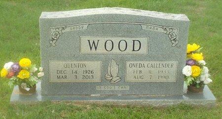 WOOD, QUENTON - Claiborne County, Louisiana | QUENTON WOOD - Louisiana Gravestone Photos