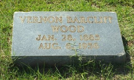 WOOD, VERNON BARCLIFF - Claiborne County, Louisiana   VERNON BARCLIFF WOOD - Louisiana Gravestone Photos