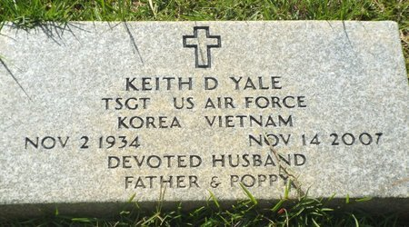 YALE, KEITH D (VETERAN 2 WARS) - Claiborne County, Louisiana   KEITH D (VETERAN 2 WARS) YALE - Louisiana Gravestone Photos