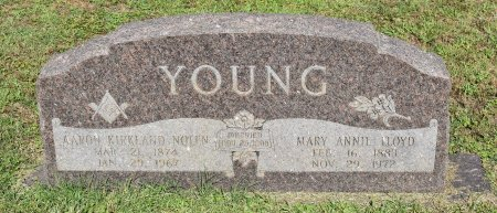 YOUNG, MARY ANNIE - Claiborne County, Louisiana | MARY ANNIE YOUNG - Louisiana Gravestone Photos