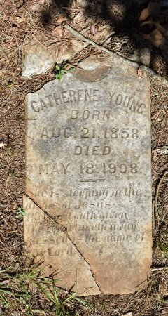 YOUNG, CATHERENE - Claiborne County, Louisiana | CATHERENE YOUNG - Louisiana Gravestone Photos