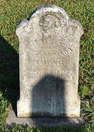 YOUNG, KATIE C - Claiborne County, Louisiana | KATIE C YOUNG - Louisiana Gravestone Photos