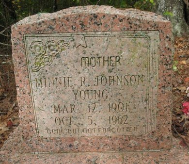 YOUNG, MINNIE R - Claiborne County, Louisiana | MINNIE R YOUNG - Louisiana Gravestone Photos