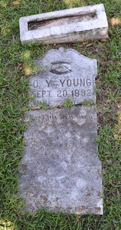 YOUNG, O Y - Claiborne County, Louisiana   O Y YOUNG - Louisiana Gravestone Photos