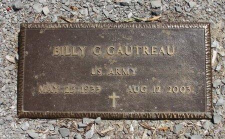 GAUTREAU, BILLY GENE (VETERAN) - Concordia County, Louisiana | BILLY GENE (VETERAN) GAUTREAU - Louisiana Gravestone Photos