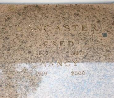 LANCASER, NANCY - Concordia County, Louisiana | NANCY LANCASER - Louisiana Gravestone Photos