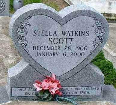 WATKINS SCOTT, STELLA - Concordia County, Louisiana | STELLA WATKINS SCOTT - Louisiana Gravestone Photos