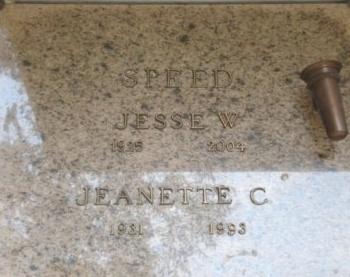 SPEED, JEANETTE C - Concordia County, Louisiana | JEANETTE C SPEED - Louisiana Gravestone Photos