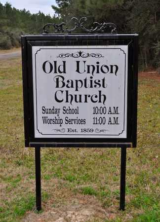 * CHURCH SIGN, . - De Soto County, Louisiana | . * CHURCH SIGN - Louisiana Gravestone Photos