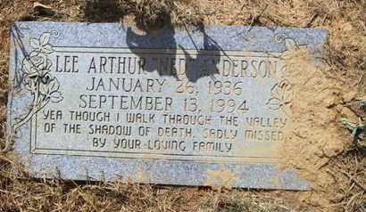 ANDERSON, LEE ARTHUR - De Soto County, Louisiana   LEE ARTHUR ANDERSON - Louisiana Gravestone Photos