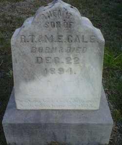CALE, INFANT SON - De Soto County, Louisiana | INFANT SON CALE - Louisiana Gravestone Photos