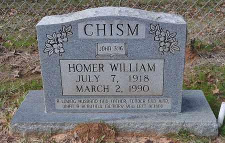 CHISM, HOMER WILLIAM - De Soto County, Louisiana | HOMER WILLIAM CHISM - Louisiana Gravestone Photos