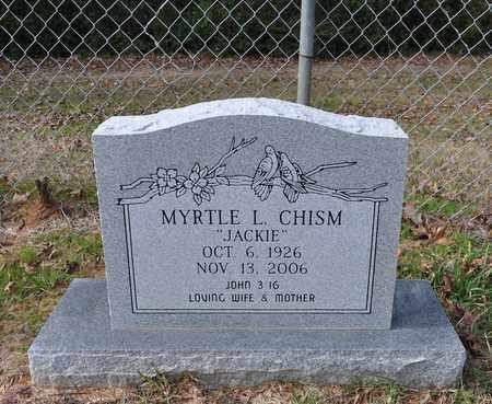 CHISM, MYRTLE L - De Soto County, Louisiana | MYRTLE L CHISM - Louisiana Gravestone Photos