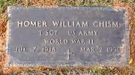 CHISM, HOMER WILLIAM (VETERAN WWII) - De Soto County, Louisiana | HOMER WILLIAM (VETERAN WWII) CHISM - Louisiana Gravestone Photos