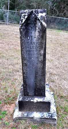 LEACH CUNNINGHAM, SUSAN E - De Soto County, Louisiana | SUSAN E LEACH CUNNINGHAM - Louisiana Gravestone Photos