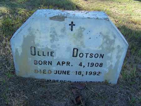DOTSON, OLLIE - De Soto County, Louisiana | OLLIE DOTSON - Louisiana Gravestone Photos
