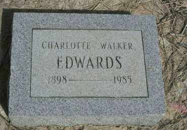 EDWARDS, CHARLOTTE - De Soto County, Louisiana | CHARLOTTE EDWARDS - Louisiana Gravestone Photos
