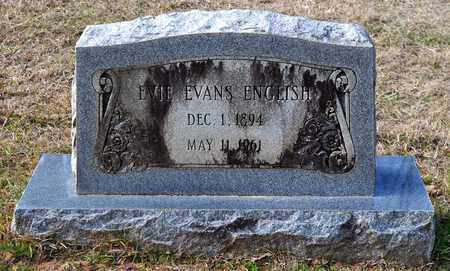 EVANS ENGLISH, EVIE - De Soto County, Louisiana | EVIE EVANS ENGLISH - Louisiana Gravestone Photos