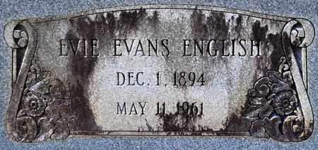 ENGLISH, EVIE (CLOSEUP) - De Soto County, Louisiana | EVIE (CLOSEUP) ENGLISH - Louisiana Gravestone Photos