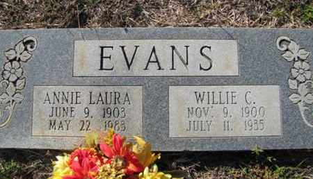 EVANS, WILLIE C - De Soto County, Louisiana | WILLIE C EVANS - Louisiana Gravestone Photos