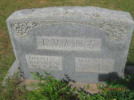 EVANS, MARTHA - De Soto County, Louisiana | MARTHA EVANS - Louisiana Gravestone Photos