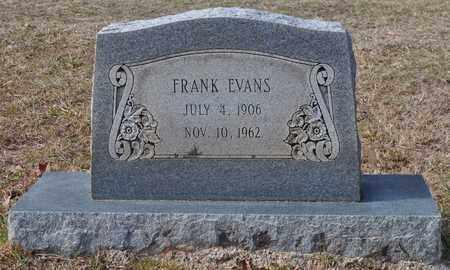 EVANS, FRANK - De Soto County, Louisiana | FRANK EVANS - Louisiana Gravestone Photos