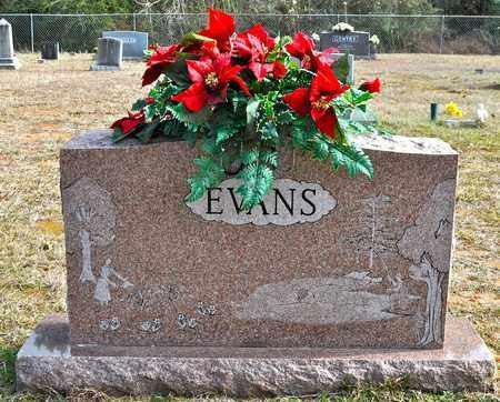 EVANS, FAMILY STONE - De Soto County, Louisiana | FAMILY STONE EVANS - Louisiana Gravestone Photos