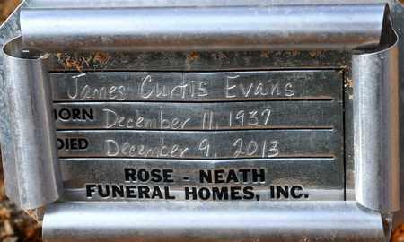EVANS, JAMES CURTIS - De Soto County, Louisiana | JAMES CURTIS EVANS - Louisiana Gravestone Photos
