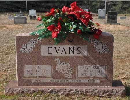 SMITH EVANS, MELVY - De Soto County, Louisiana   MELVY SMITH EVANS - Louisiana Gravestone Photos