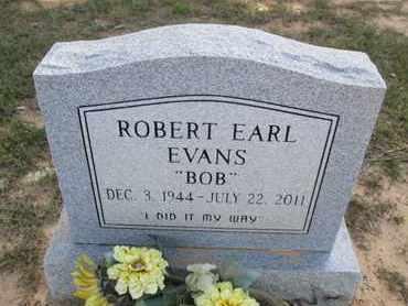 EVANS, ROBERT EARL - De Soto County, Louisiana | ROBERT EARL EVANS - Louisiana Gravestone Photos