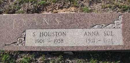EVANS, S HOUSTON - De Soto County, Louisiana | S HOUSTON EVANS - Louisiana Gravestone Photos