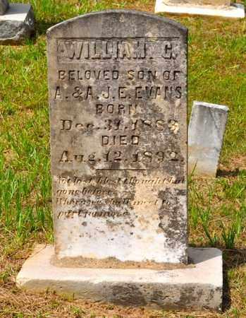 EVANS, WILLIAM C - De Soto County, Louisiana   WILLIAM C EVANS - Louisiana Gravestone Photos