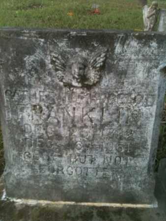 HUBBARD FRANKLIN, CATHERINE - De Soto County, Louisiana   CATHERINE HUBBARD FRANKLIN - Louisiana Gravestone Photos