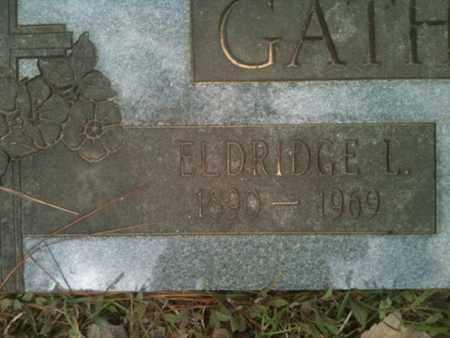GATHRIGHT, ELDRIDGE L - De Soto County, Louisiana | ELDRIDGE L GATHRIGHT - Louisiana Gravestone Photos