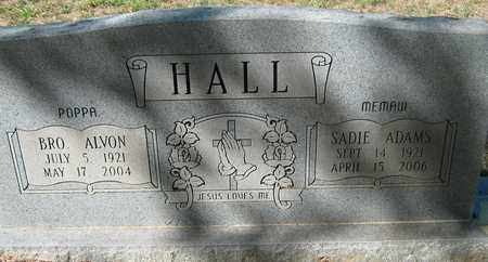 HALL, ALVON - De Soto County, Louisiana | ALVON HALL - Louisiana Gravestone Photos